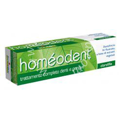 Homeodent dentifricio clorofilla 75 ml